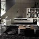 Amazing Dark Grey Living Room Design Ideas
