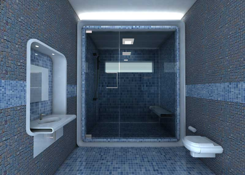 Amazing Tile Wall Bathroom Interiors by Creativegenie