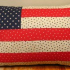 American Flag Pillow Design