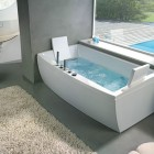 Angular Awesome Bathtub with Head Rest by BluBleu