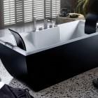 Awesome Black and White Bathtub by BluBleu