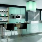 Awesome Black and White Kitchen Design