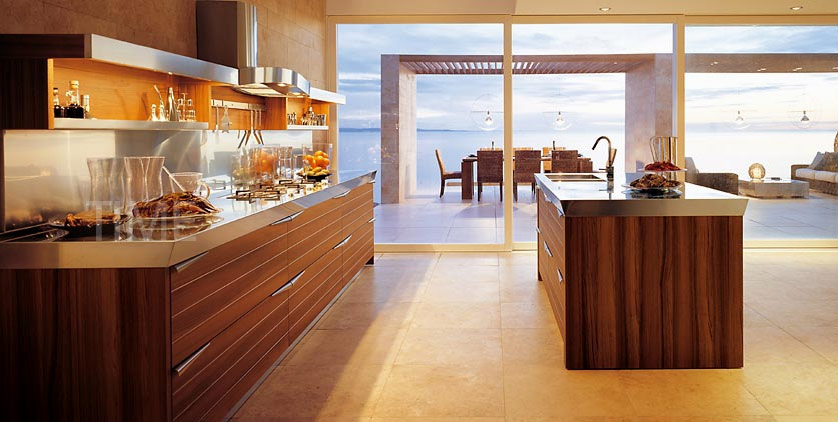 Elegant modern brown kitchen designs ideas bedroom for Elegant modern kitchen designs