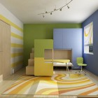 Awesome Full Color Kids Room Design Ideas