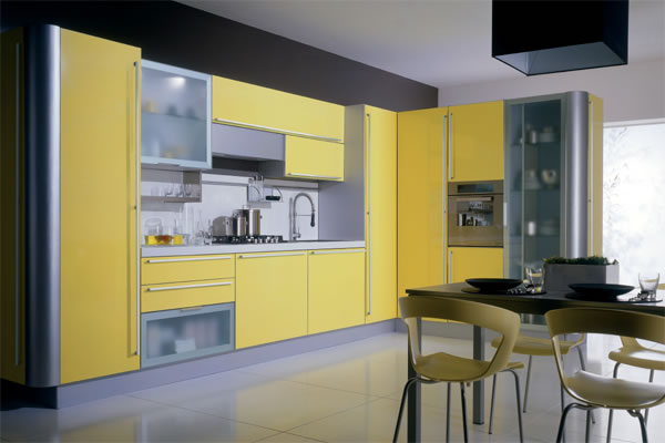 yellow kitchen cabinets italian yellow kitchen units yellow kitchen cabinets design