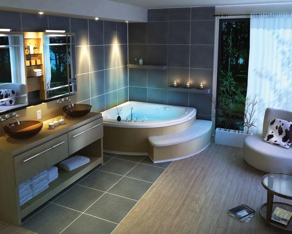 image tan pebble tile bathroom flooring and shower main gallery next