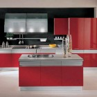 Awesome Red Italian Kitchen Design Ideas