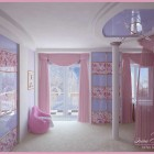 Beautiful Pink Room for Girl by Irina Silka