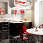 Beautiful Red Kitchen Design Ideas