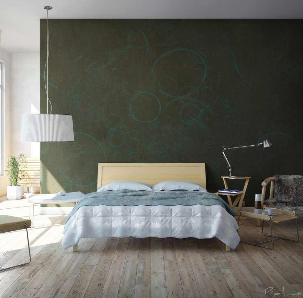 Cool Bedroom Walls That Pack A Creative Punch Bedroom