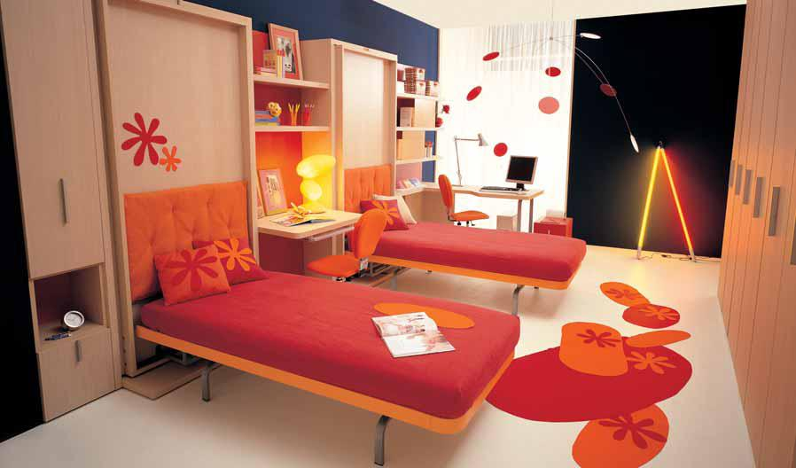 Decorating Ideas > Making Teen Bedrooms Work In Small Spaces  Designs By  ~ 091823_Dorm Room Ideas For Triples