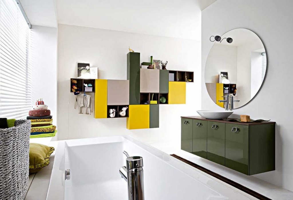 Best Shining and Colorful Bathroom