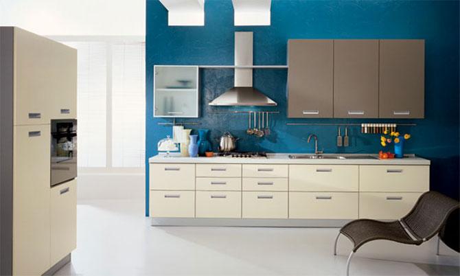 Blue and grey kitchen decor interior design ideas - Blue and gray kitchen decor ...