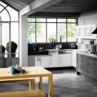 Classic Black and White Kitchen Design