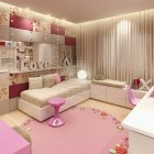 Comfort Pink Girl Bedroom by DARKDOWDEVIL