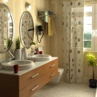 Contemporary Bathroom Neutral Tones Design Ideas