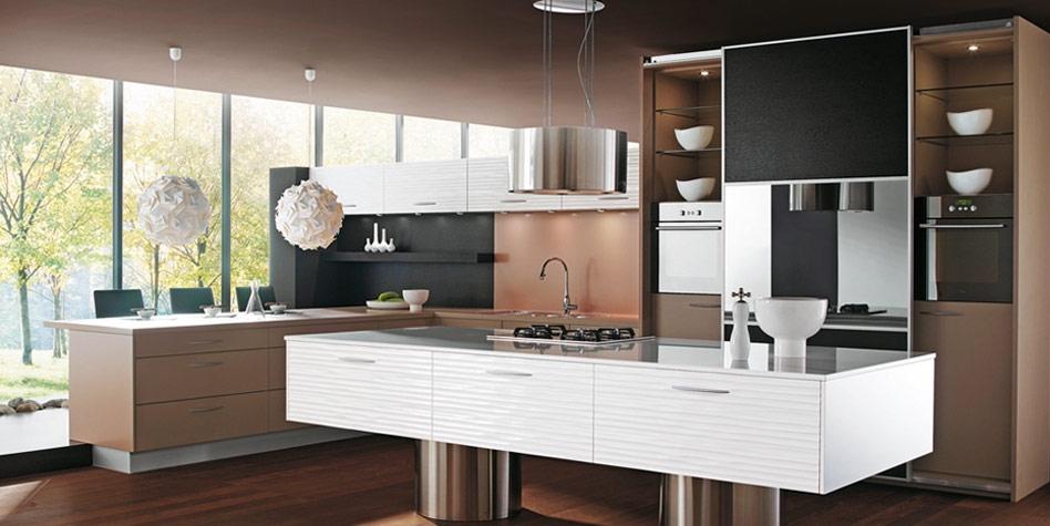 Contemporarybrown Kitchen Design 2017