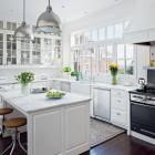 ContemporaryCountry Style Kitchen Design