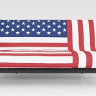 Cool American Flag Sofa Cover Design
