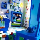 Cool Blue IKEA Kids Bedroom Design Ideas