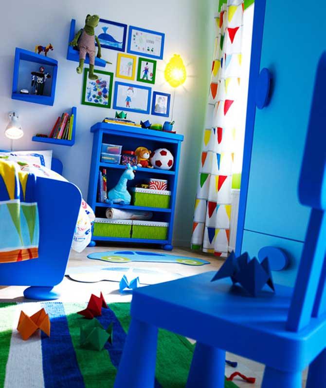 bedroom blue kids furniture