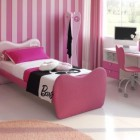 Cool Pink Stripred Wall Decoration Ideas