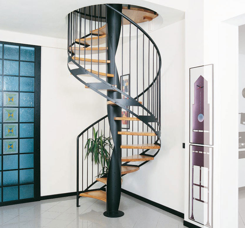 Cool spiral stairs design ideas interior design ideas Curved staircase design plans