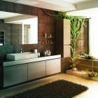 Cool Zen Bathroom Forest Atmosphere by Bizkitfan