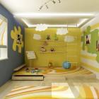 Cozy Full Color Kids Room Design Ideas