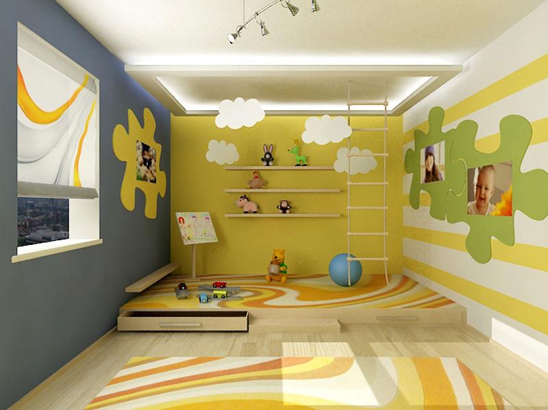 Cool colorful kids room ideas bedroom design ideas for Kids room color ideas