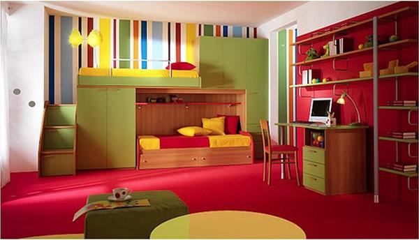 cool colorful kids room ideas bedroom design ideas interior design ideas. Black Bedroom Furniture Sets. Home Design Ideas