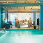 Drop Dead Gorgeous Blue Bedroom with Private Pool