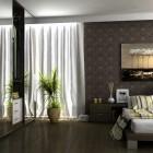 Drop Dead Modern Brown Bedroom by Pnn