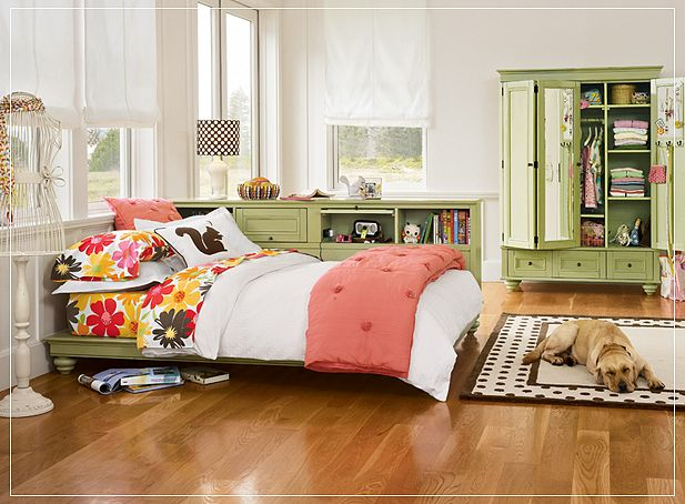 10 Beautiful Young Girl & Teen Bedroom Designs - Bedroom ... on Beautiful Rooms For Teenage Girls  id=34749