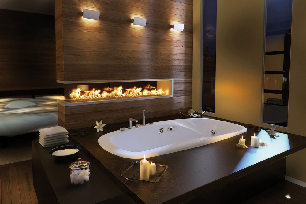 Eterne drop in close up bathroom design ideas by pearl baths