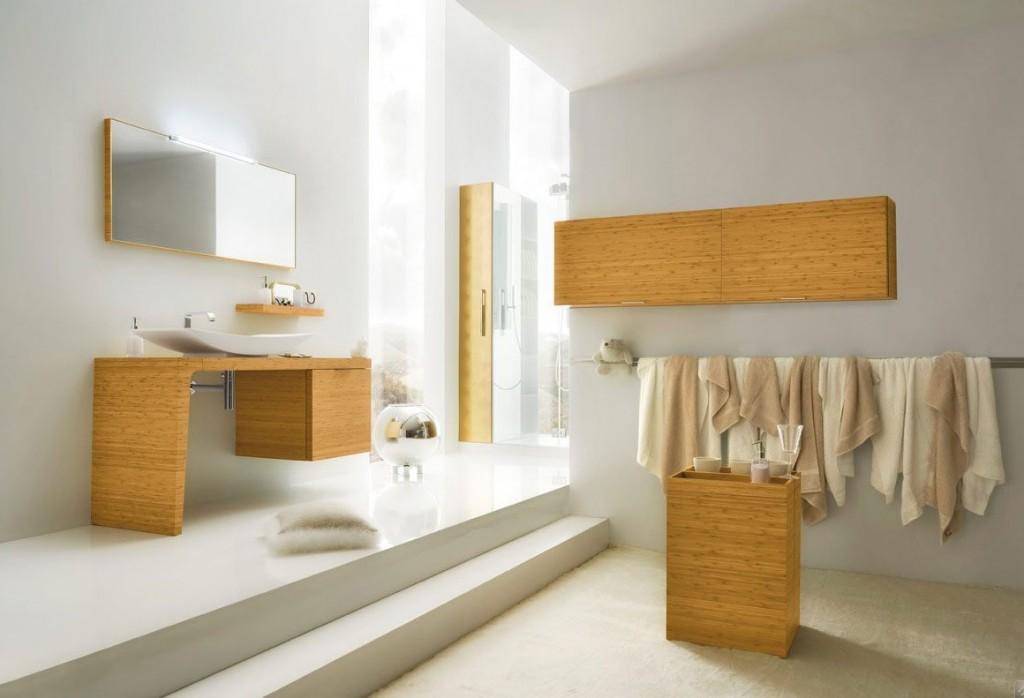 Exotic Grey Bathroom Design 2011