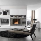 Grey and White Italia Living Room