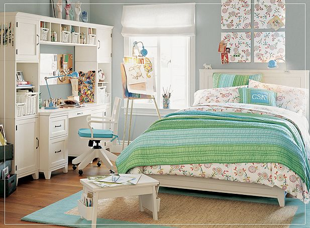 10 Beautiful Young Girl & Teen Bedroom Designs - Bedroom ... on Beautiful Rooms For Teenage Girls  id=36346