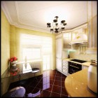 Luxurious Yellow Kitchen by Leandreko