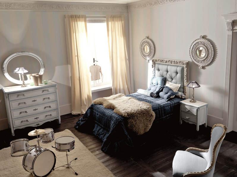 Luxury Italian Classic Interior Kids Bedroom