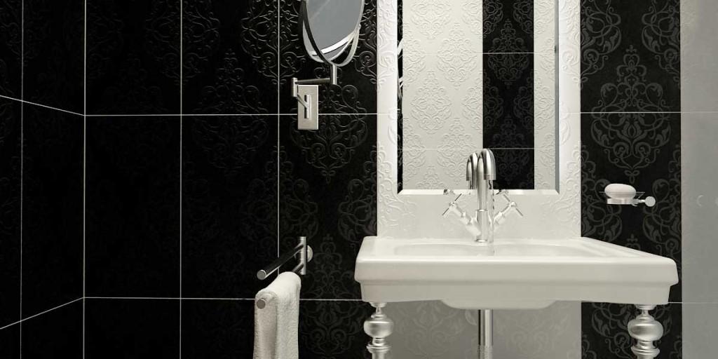 Luxury Modern Classic Bathroom Chrome Fixtures Design