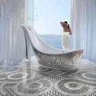 Luxury Shoe Shape Bathtub by SICIS