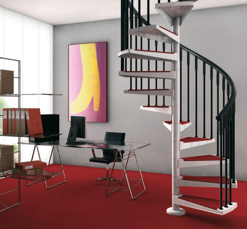 Luxury Spiral Stairs Design Ideas