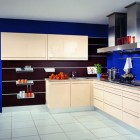Minimalistic Blue Kitche Design Ideas