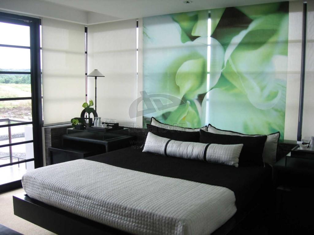 Mint Bedroom by Purplinkatie