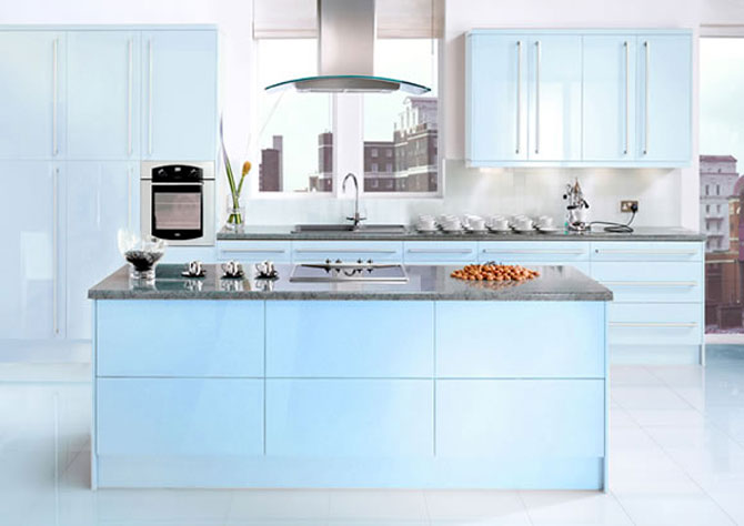 Cool Blue Kitchens Design Inspirations Kitchen Design