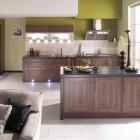 Modern Classic Green Kitchen