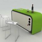 Modern Compact Kitchen Design Concept