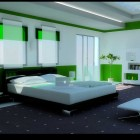 15 Amazing Green Color Bedrooms