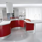 Modern Kitchen Design with White Cabinet
